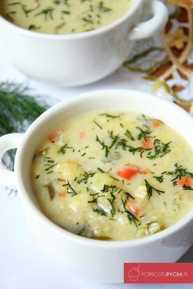 Zupa kalafiorowa <3 moja ulubiona!