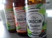 Który smak wybieracie?  Okocim Radler z limonką, grapefruit z limonką czy lim...