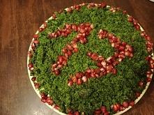 """Urodzinowe ciasto dla córki...sama zrobiłam ,,leśne runo"""""""