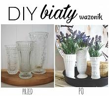 DIY MALOWANY WAZON