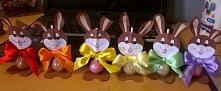 Zające- lizaki na Wielkanoc :)