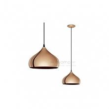 Lampa wisząca HAPTON - dostępna w =mlamp=  Prezentowane oświetlenie posiada bardzo ciekawą oprawę, która swoją formą przypomina kopułę. Oprawa wykonana jest ze stali a jej dodat...