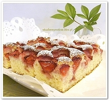 Najszybsze ciasto z truskaw...