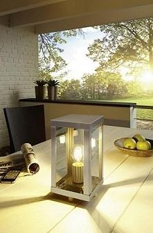 Lampa stojąca ALAMONTE - lampyogrodowe.pl  Idealna do oświetlenia tarasu!
