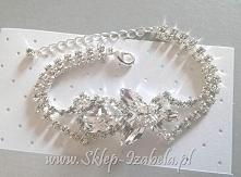 Bransoletka z kryształkami, ślub