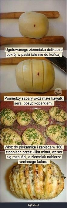 Zapiekane ziemniaki.