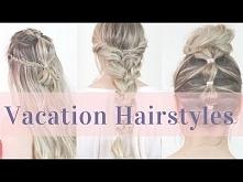 4 Summer Vacation Hairstyles Hair Tutorial- KayleyMelissa