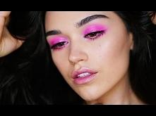 Editorial Makeup | Glossy Pink