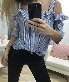 Koszula hiszpanka <3 rozmiar z metki S/M lub L/XL <3