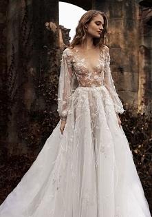 Niesamowita sukienka dla Panny Młodej <3