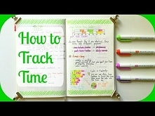 How to Track Time | A Beginner's Guide to Bullet Journal Time Tracking |...