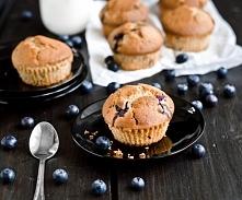 Pyszne babeczki z borówkami i czekoladą - dodatkowo proste i szybkie w przygo...