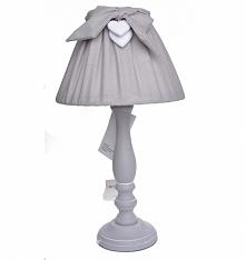 Lampa stołowa z kokardką w ...