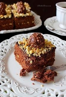 Ciasto Ferrero Rocher bez Pieczenia - NAJLEPSZE!