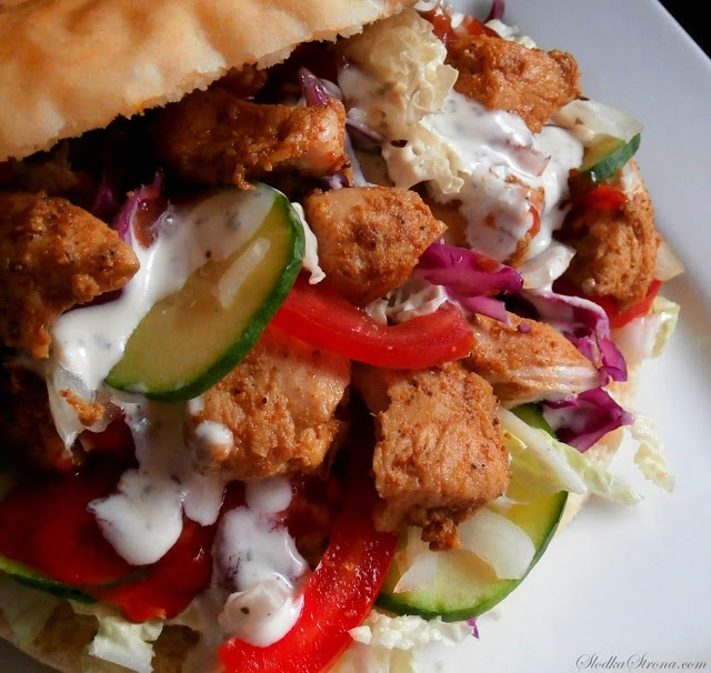 Domowy Kebab (Kebab z Kurczaka) przepis