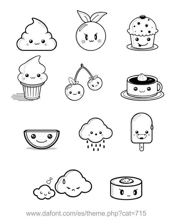 na doodles-s u0142odkie rysunki