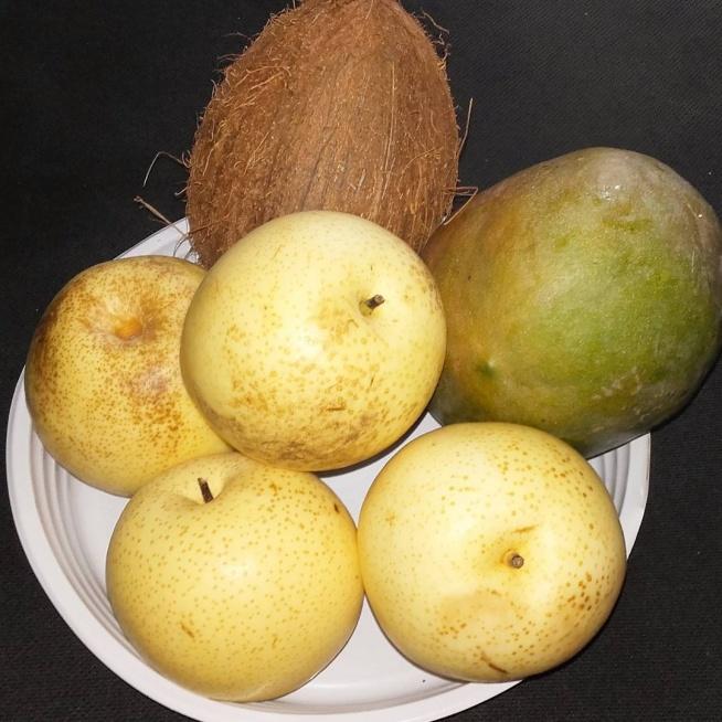 f091ec66 Asian pear czyli chińska gruszka, która wygląda jak jabłko. PRZ.. na ...