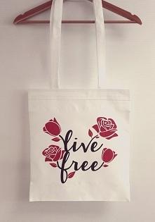 Kolejna torba polibawełniana Live Free rusza dziś w drogę! Ten wzór zdecydowa...