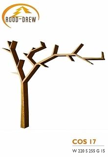 półka w kształcie drzewka można zakupić w nas