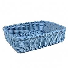 Wiklinowa szufladka kolor błękitny