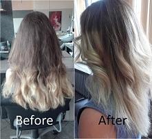 Moje włosy <3