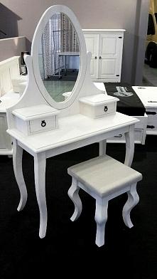 Piękna biała toaletka. Już teraz możesz kupić u nas !! rood-drew