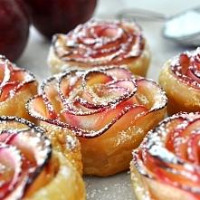 Jabłkowe różyczki *.*