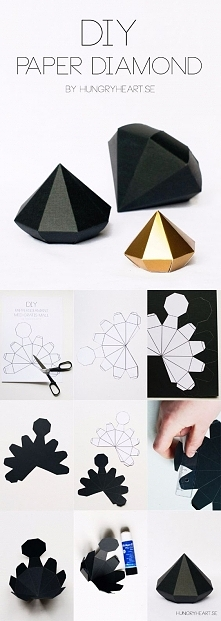 papierowy diament