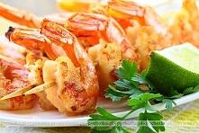 Mocno pikantne krewetki z grilla
