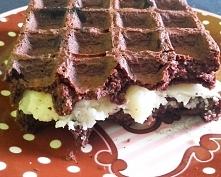 Gofry czekoladowo-cynamonow...
