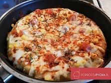 pizza z patelni przepis: Sk...