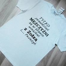 Koszulka dla prawdziwego mężczyzny ;) Kliknij w zdjęcie i przejdź do naszego ...