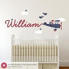 Imię dziecka na ścianie - i...