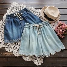 Jeansowe szorty- idealne na lato