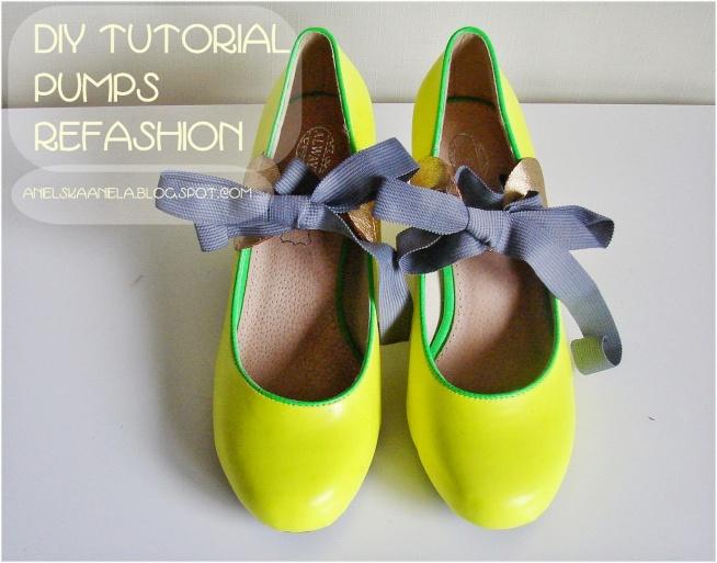 Sznurowane buty Diy