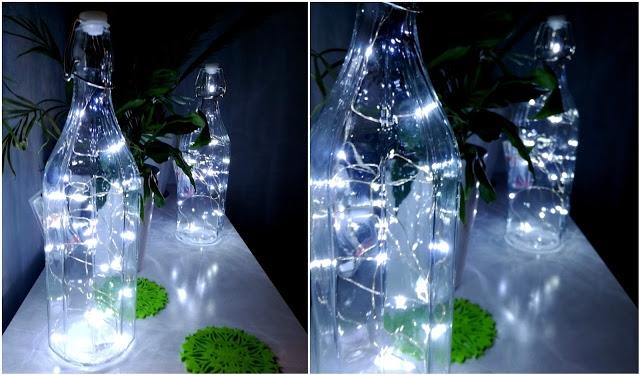 Lampka z butelki - ZRÓB TO SAM