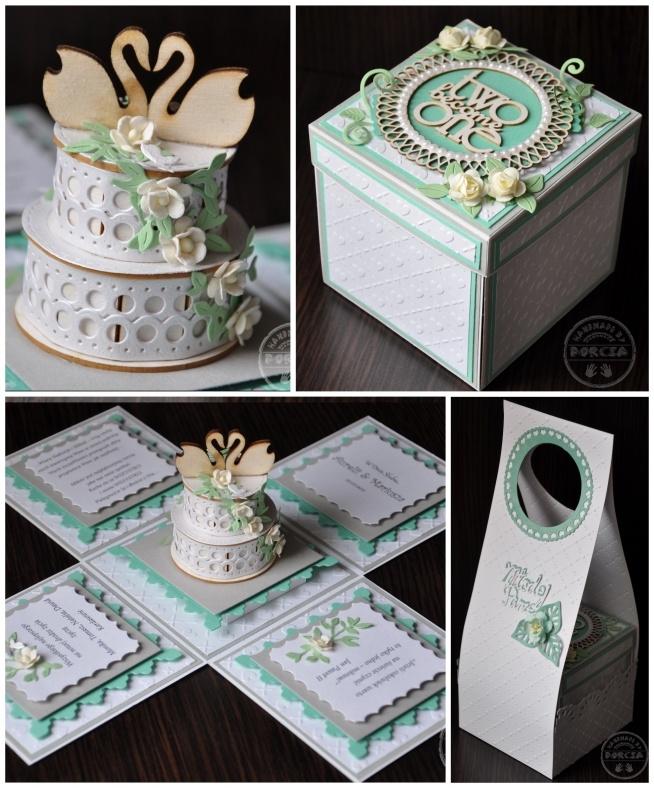 Exploding box z okazji ślubu ❤️❤️❤️