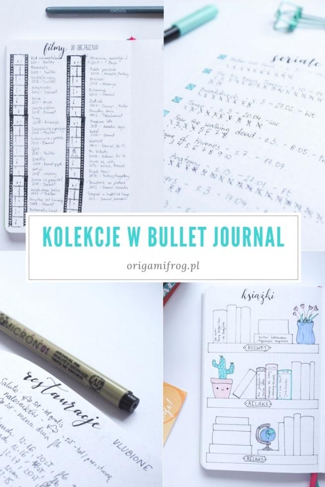 Bullet journal to świetne narzędzie do planowania. Oprócz tego można w nim trzymać różne listy i kolekcje - zobaczcie o co chodzi klikając na zdjęcie :)  Listy i kolekcje w moim bullet journal • origamifrog.pl