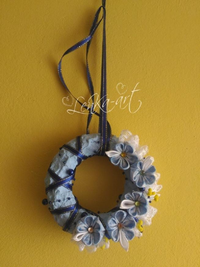 wianuszek na drzwi baby blue <3