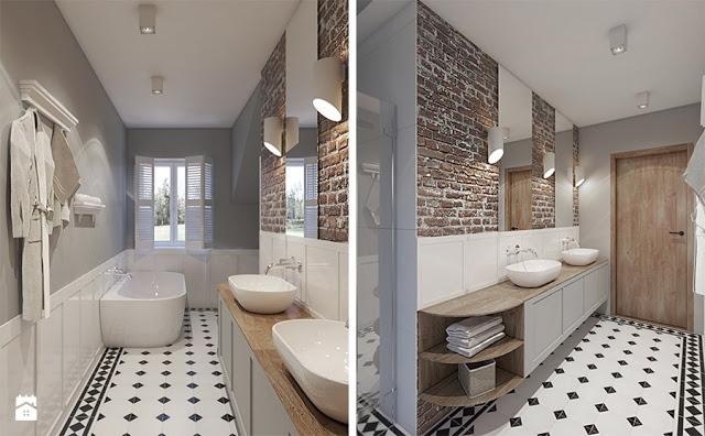 łazienki Kojarzą Się Z Ceramicznymi Płytkami Specjalną