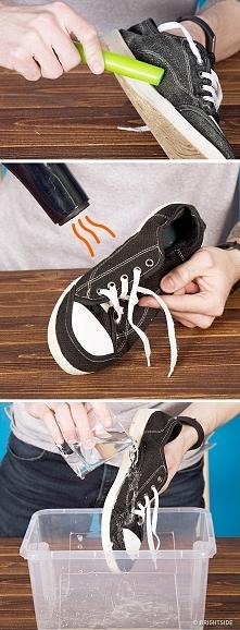 Jeśli nawoskujesz buty i wy...