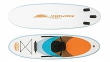 Deska do surfowania/kajak  Możliwość używania jako SUP albo jako KAJAK Można pływać w pozycji stojącej lub po zamontowaniu siedziska (w komplecie) można używać jako kajak.