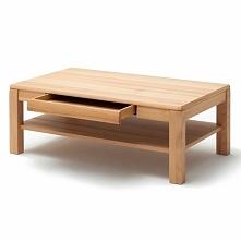 Drewniany stolik z szufladą...