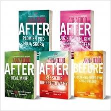 "Książki z cyklu ""After"" Anna Todd"