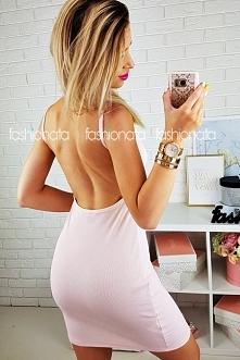 Pastelowa sukienka BODYCON ...