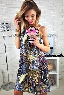 Sukienka ASHIA - idealna na...