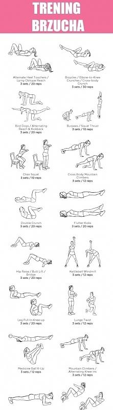 Przykładowy trening brzucha.