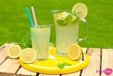 Przepis na domową lemoniadę cytrynową!