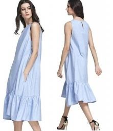 Sukienka midi w stylu overs...