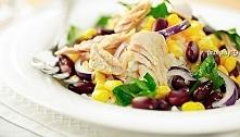 Sałatka z tuńczyka i fasoli...